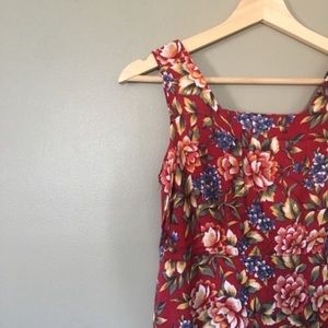Vintage Empire Waist Maxi Dress
